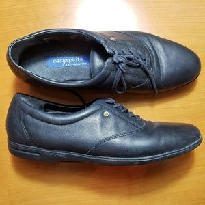Easy Spirit Motion Leather Oxfords-Womens 11.5